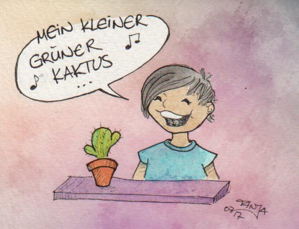 365-Tage-Doodle-Challenge - Stichwort: Kaktus