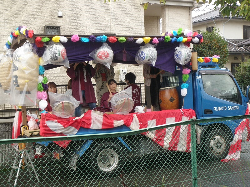 今田囃子の山車