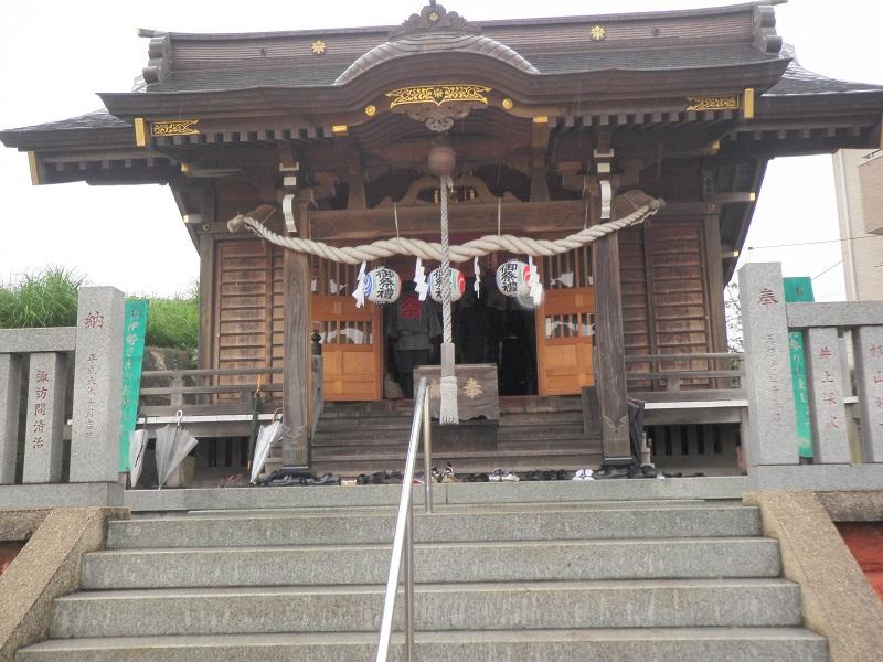 鯖神社本殿