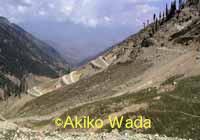 州都ペシャワールからチトラールの町に陸路で入る時に越える標高およそ3100メートルのラワリ峠。