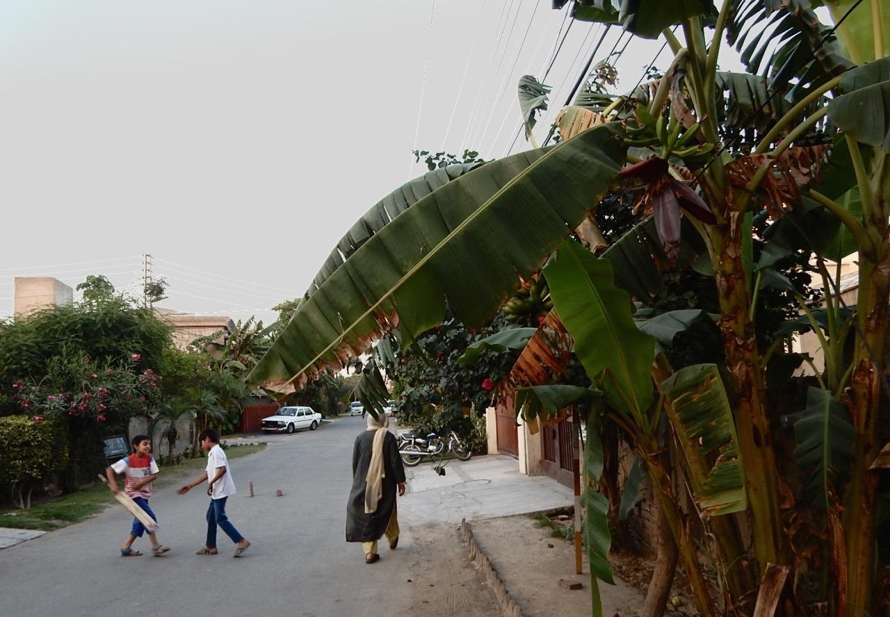 ヌザットさんの家がある集合住宅地は、出入り口に門番がいて塀に囲まれているので、静かで安全だ。