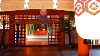厳島神社。