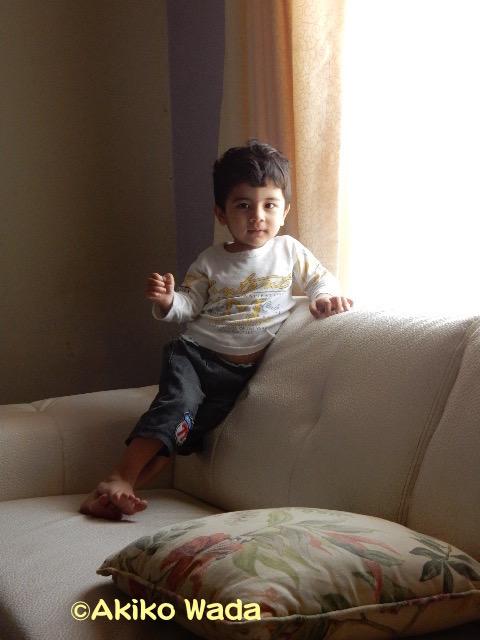 アルジャズィーラで働くスワット出身のムラッド氏の甥っ子。