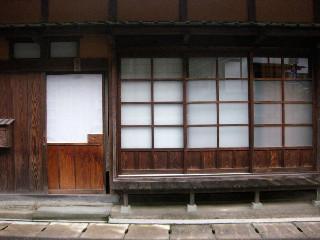 日本の木造家屋の美しさ。