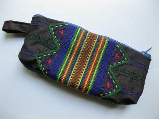 新製品、手織り紐付きペンケース
