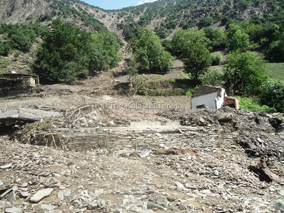 8月の土石流で、跡形もなくなってしまった。