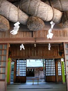 須佐神社の本殿。