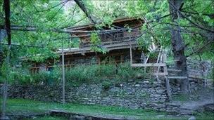 記事に載った「AKIKOの家」の写真