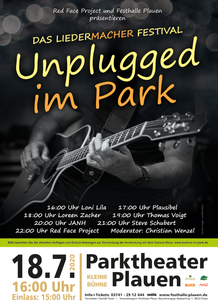 Unplugged im Park