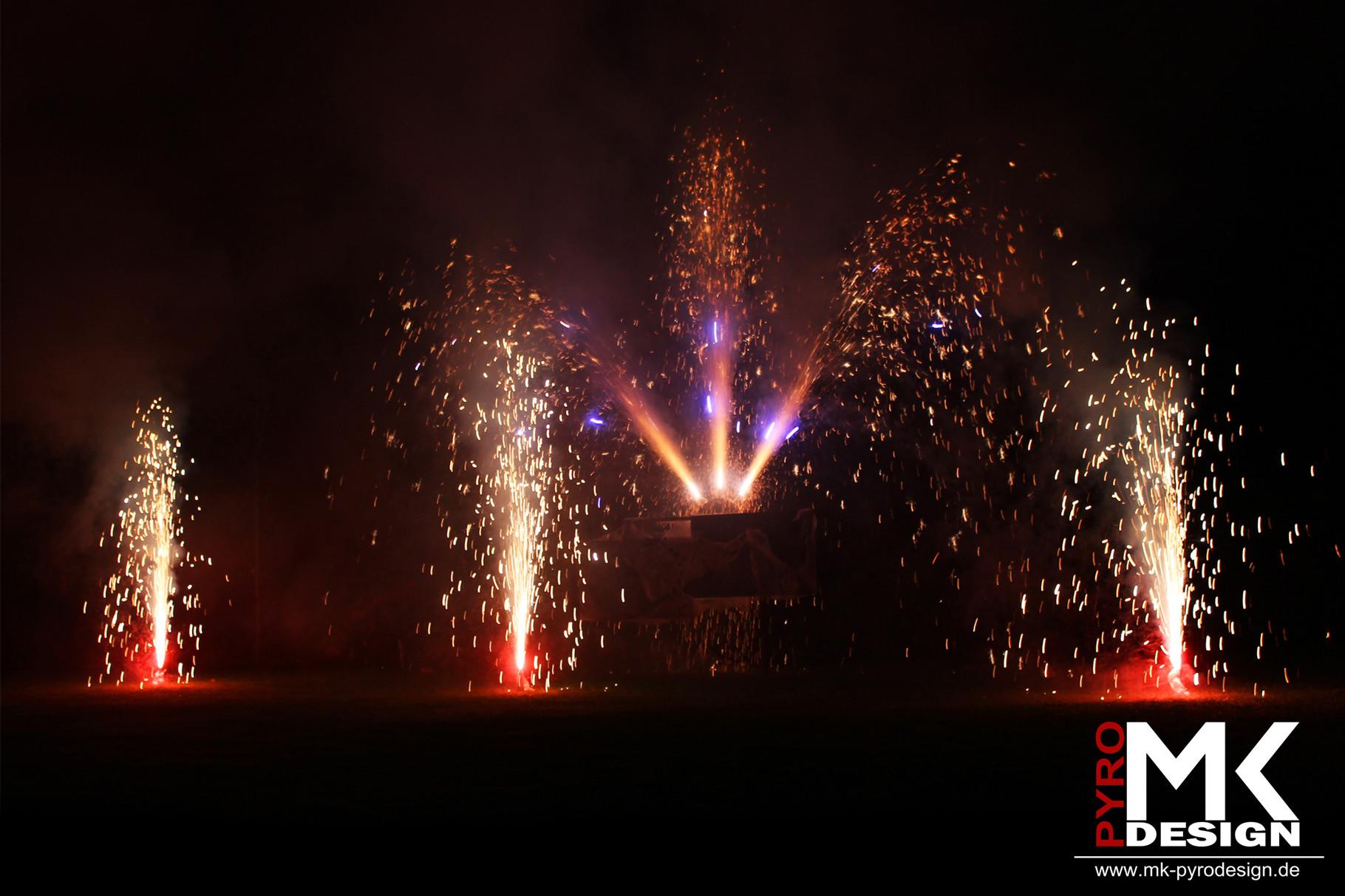 Hochzeitsfeuerwerk Mühlacker