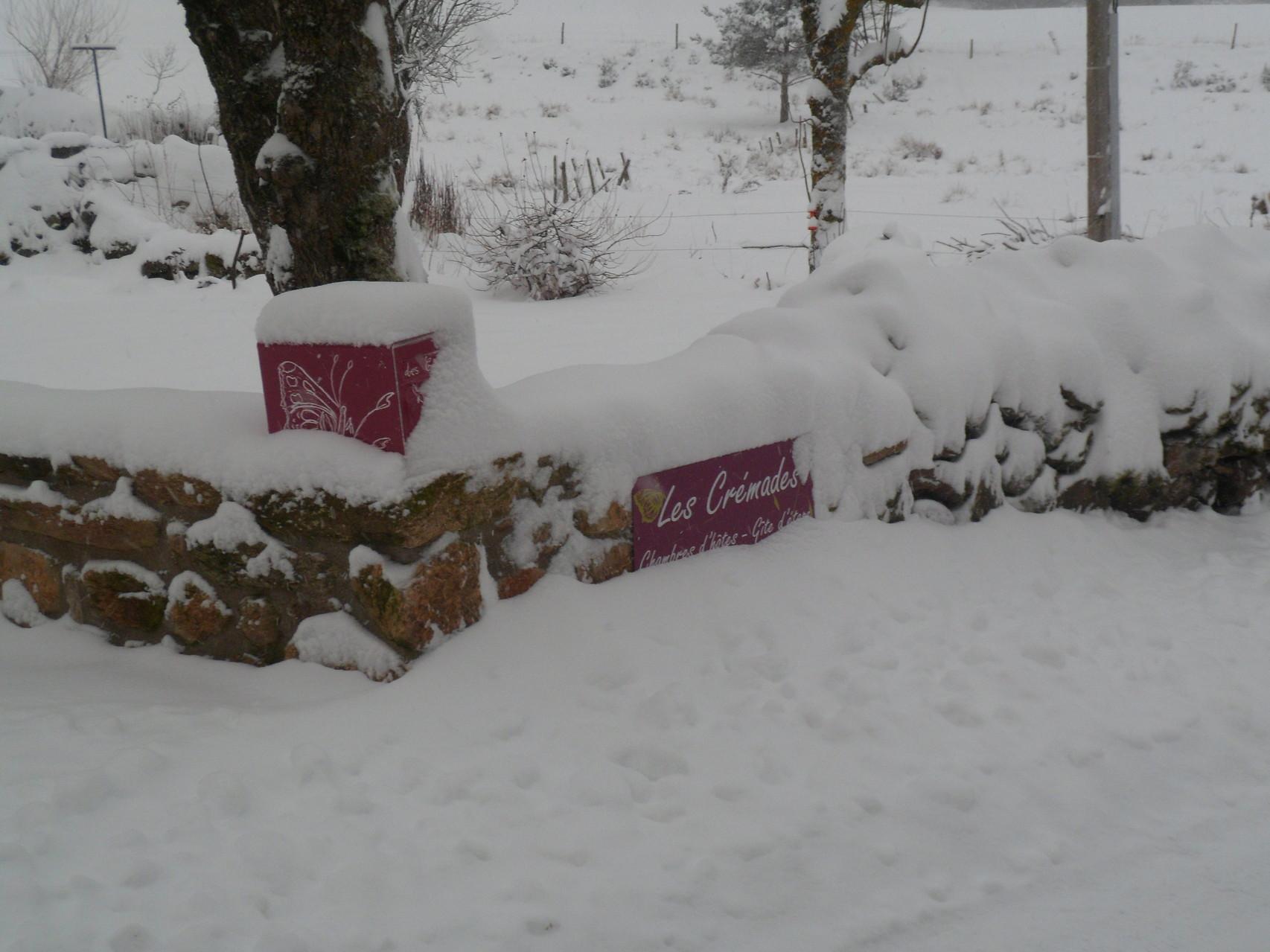 L'hiver aux Crémades....