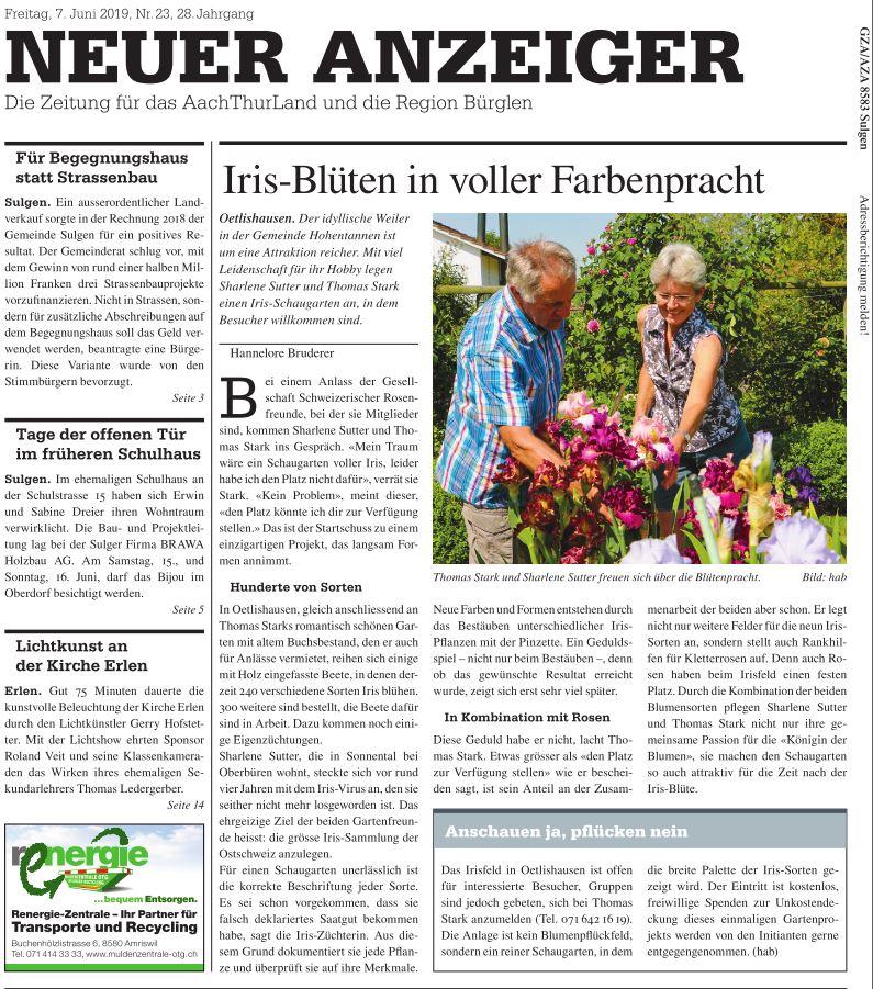 Neue Anzeiger, June 2019
