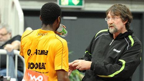 Adomeit als Coach von Weltklassemann Quadri Aruna