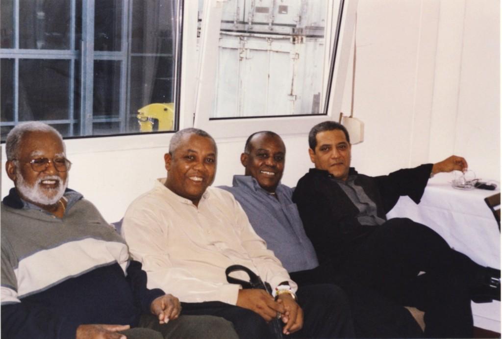 Lucas, Jorge, Silvano und Ricardo
