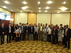 Participants of workshop