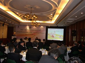 The presentation at Japan India Energy Efficency WG