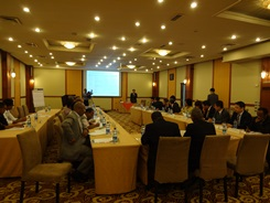 Work shop at Addis Ababa