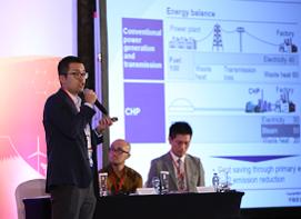 CHP presentation in Jakarta
