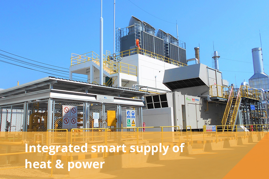 Inclusive use of thermal energy & electricity