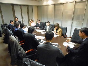 Meeting with Ministry of Energy