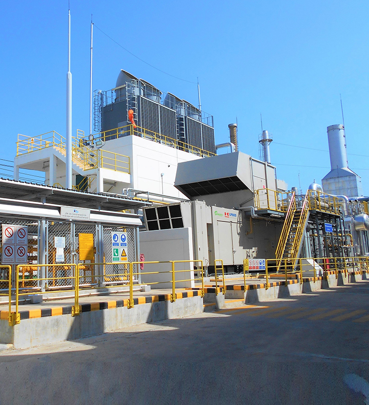 Integrated smart supply of heat & power