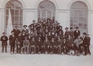 La banda di Riva nel 1897
