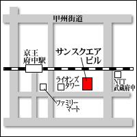 東京事業所地図