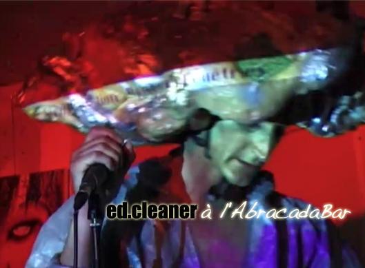 album: ed.cleaner à l'AbracadaBar
