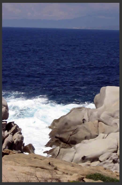 Sardinien - Felsküste