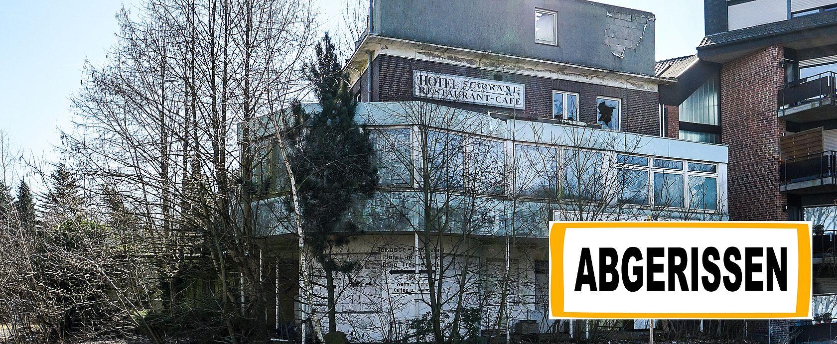Das leerstehende Schimmelhotel