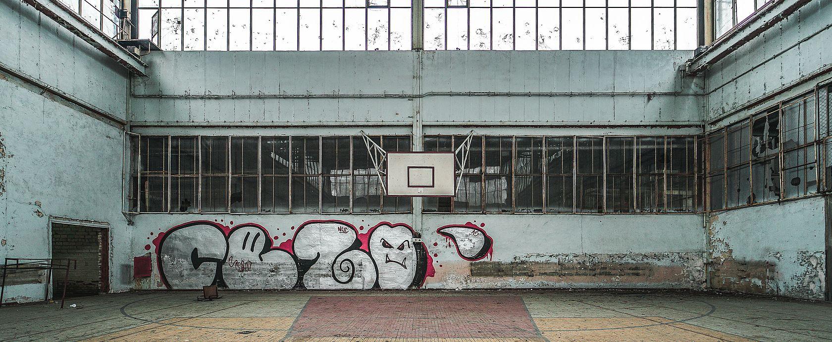 Die sowjetische Turnhalle