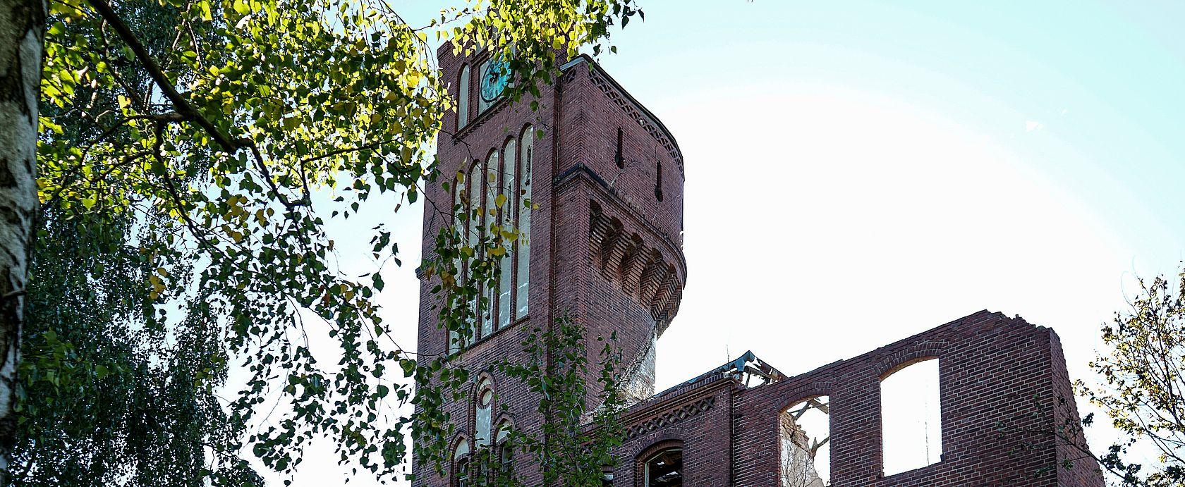 Dier Kaserne mit Wasserturm