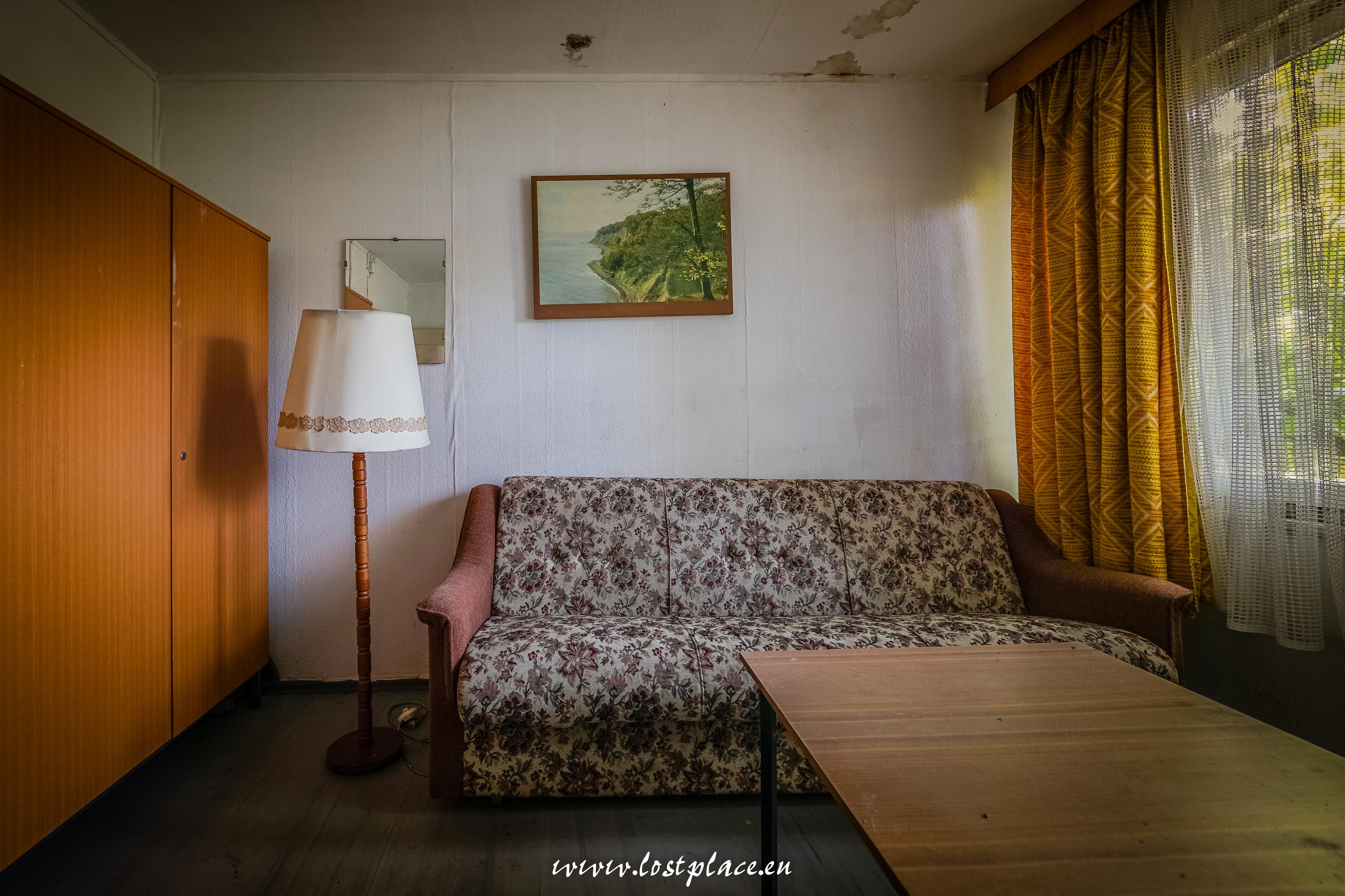 Ein Zimmer der Ferienanlage