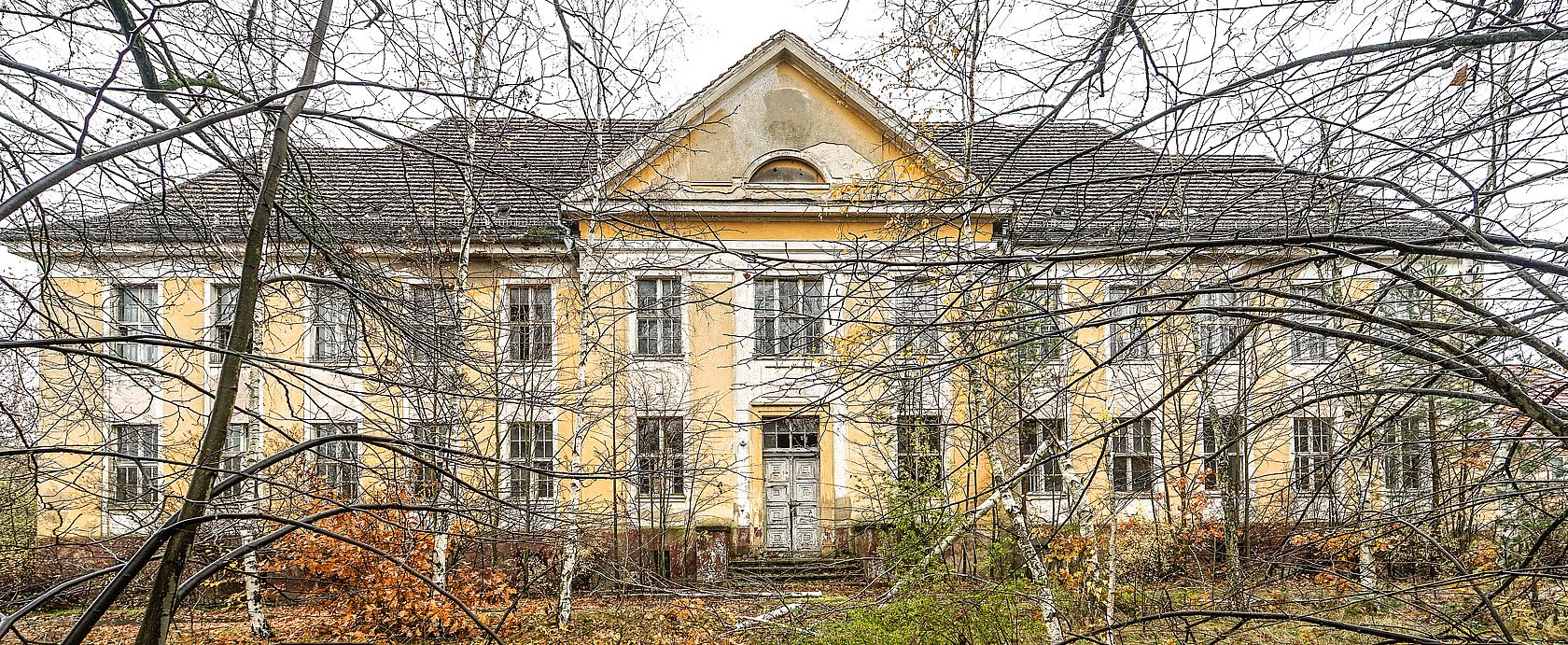Die verlassene Schule der Sowjets