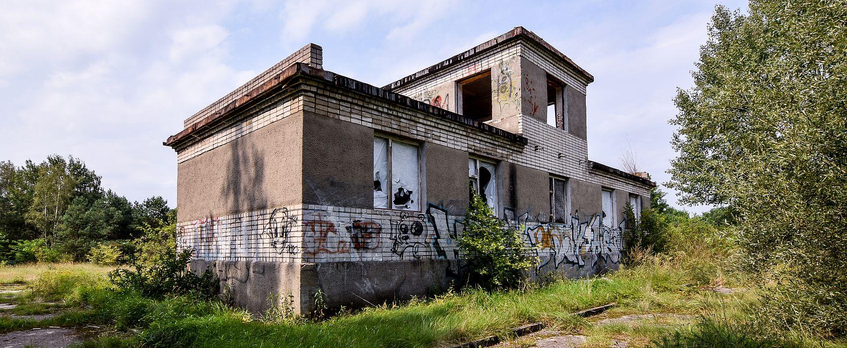 Das Beobachtungsgebäude