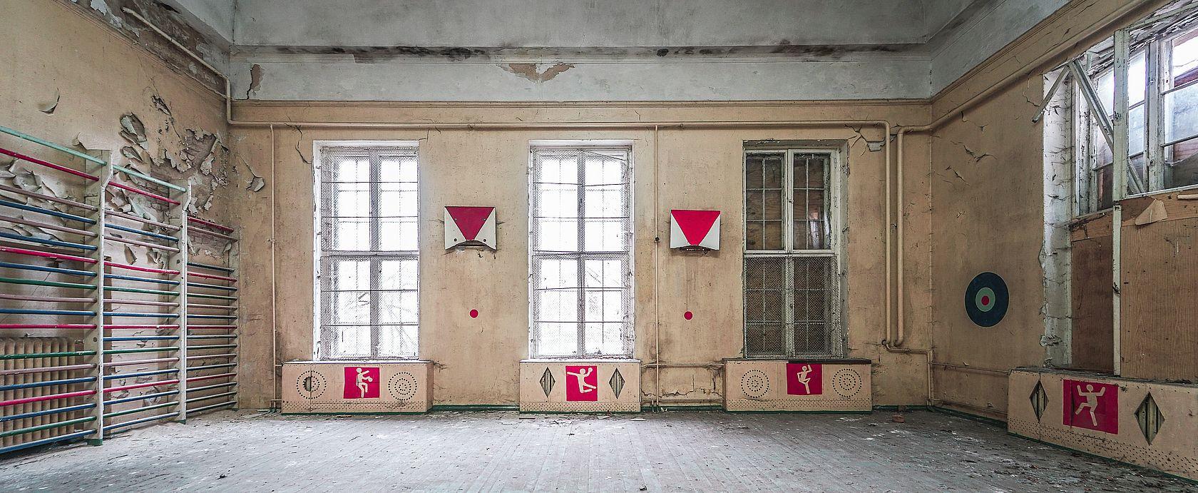 Die russische Turnhalle