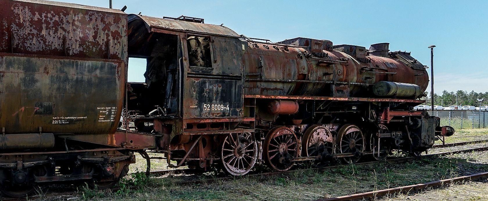 Eisenbahn Lokfriedhof