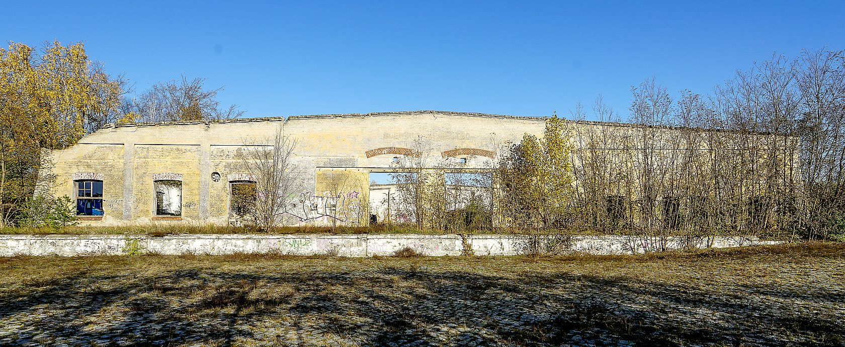 Eingestürzte Gebäude