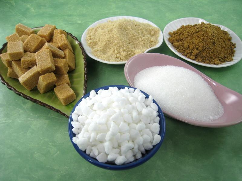 Variétés de sucre