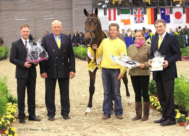 v.l.n.r.: Michael Edzards, Manfred Schäfer, Concours Complet, Jörn Kusel, Katharina Tietz, Jürgen Rump
