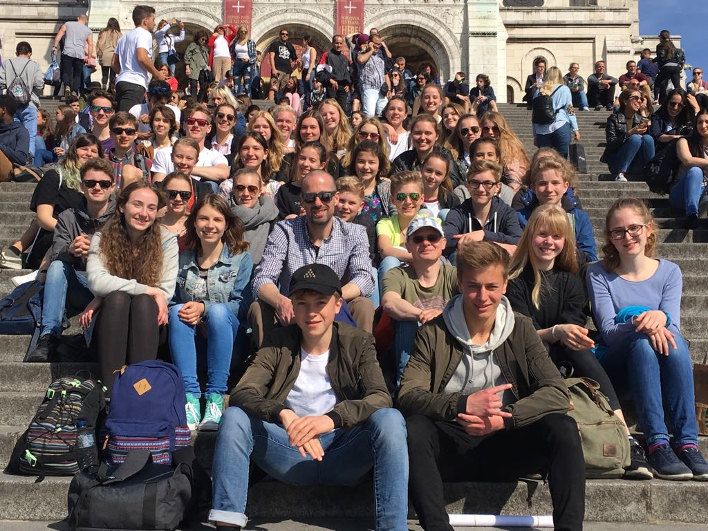 Gruppenfoto Montmartre.
