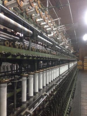 撚糸機と糸巻き1
