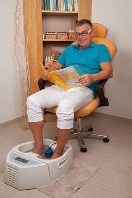 4 balance - Fußbad mit Magnetkern, Magnettherapie