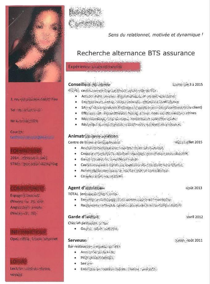 bts assurance et banque