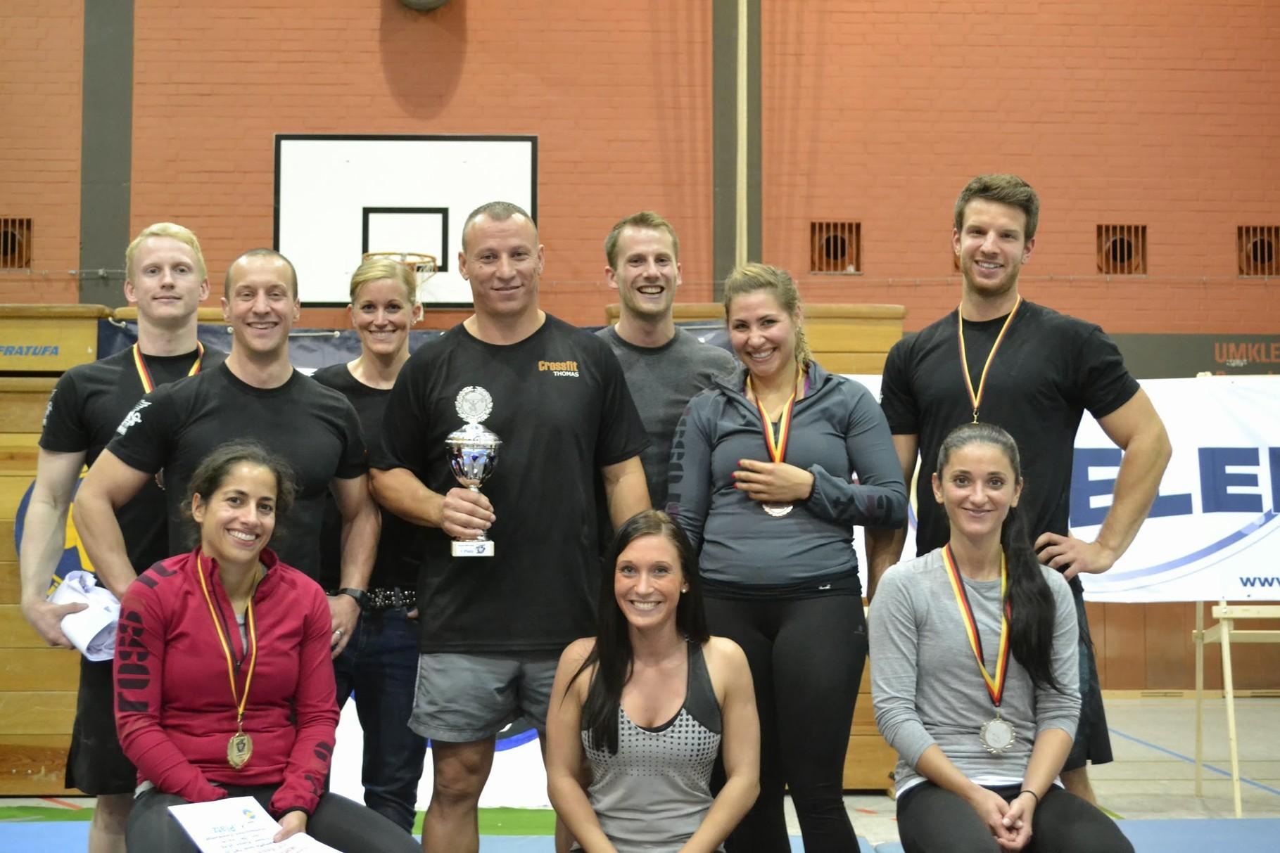 Die Teamsieger aus Karlsruhe - herzlichen Glückwunsch!