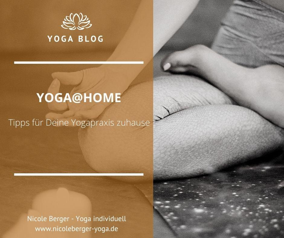 Yoga@home – Tipps für Deine regelmäßige Yogapraxis zuhause
