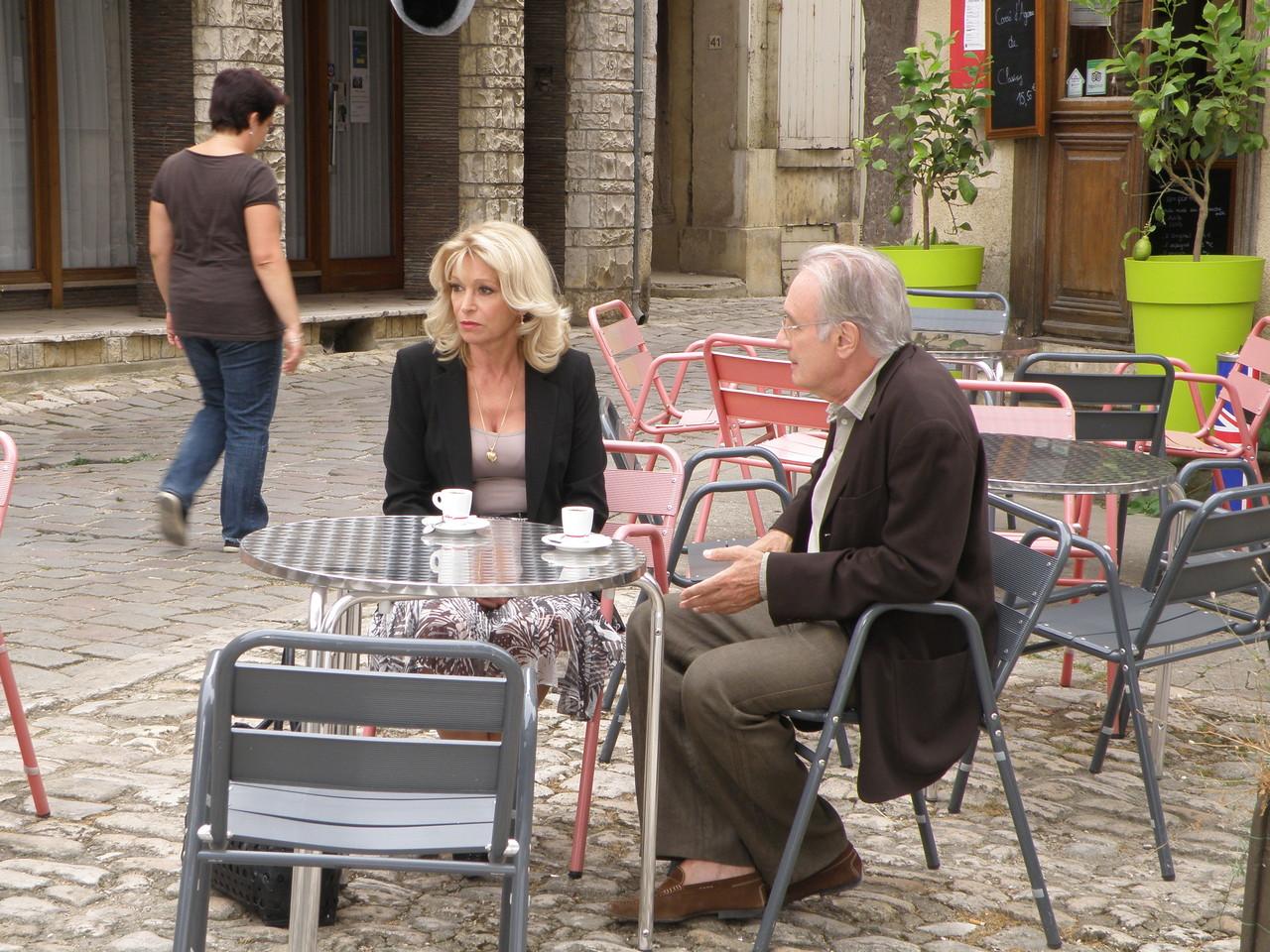 Béatrice Agenin et Bernard Lecoq