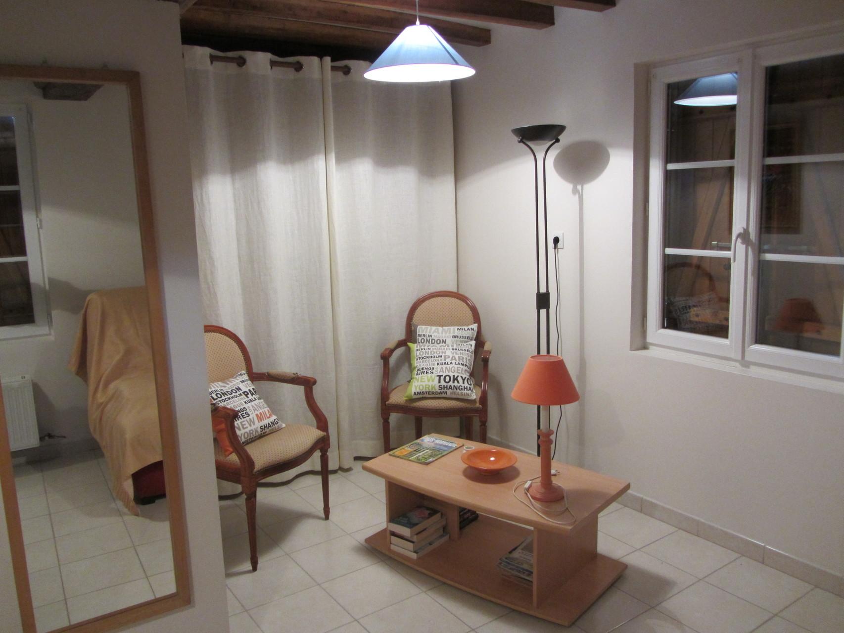 Le salon - coté cozy