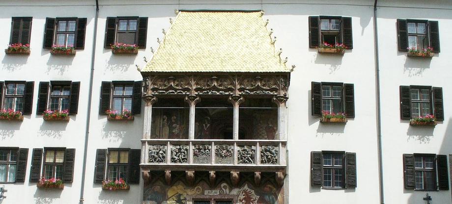 Taxi Serfaus Fiss Ladis - Ausflugsfahrt zum Goldenen Dachl Innsbruck (Bildarchiv TVB Innsbruck)