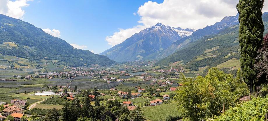 Taxi Serfaus Fiss Ladis - Ausflugsfahrt mit Blick ins Vinschgau (Bildnachweis cco Pixabay)